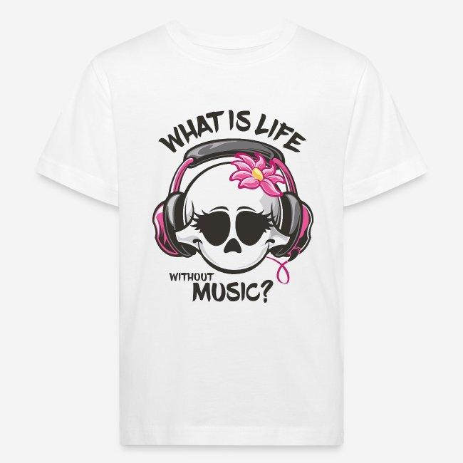Musik ist Lebensschädel