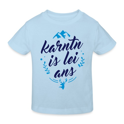 Karntn is lei ans • Nature Edition - Kinder Bio-T-Shirt
