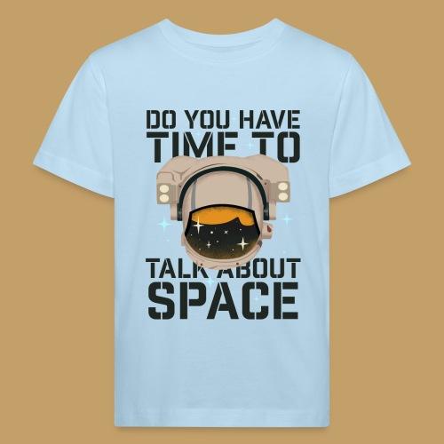 Time for Space - Ekologiczna koszulka dziecięca