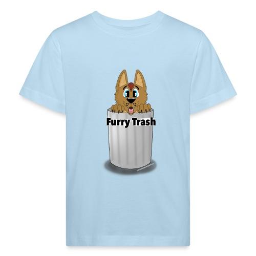 Furry Trash - Organic børne shirt