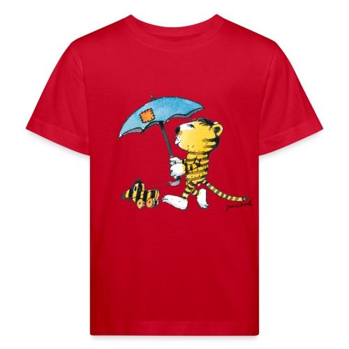 Janosch Kleiner Tiger Tigerente Mit Schirm - Kinder Bio-T-Shirt