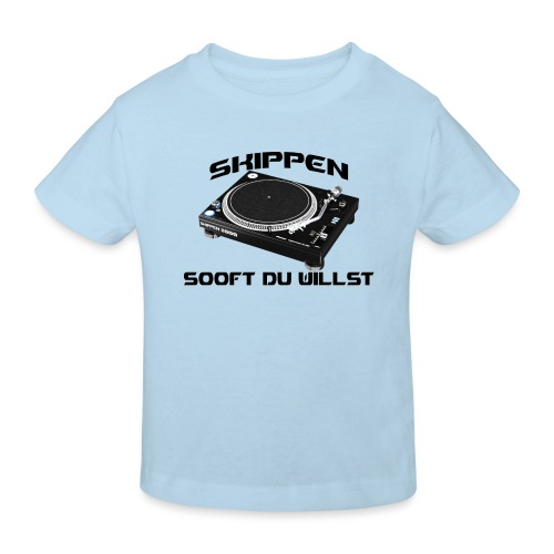 Skippen so oft du willst - Kinder Bio-T-Shirt