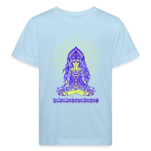 Yogafashion Hippie Ganesha dein Glücksgott - Kinder Bio-T-Shirt