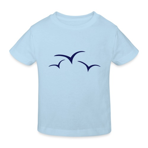 Möwen - Kinder Bio-T-Shirt