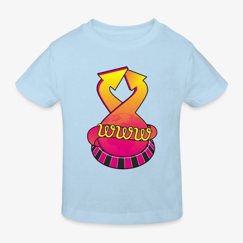 UrlRoulette logo - Kids' Organic T-Shirt