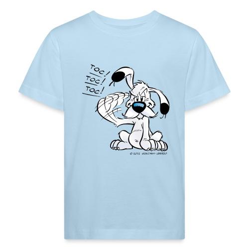Astérix & Obélix Idéfix Frappe Toc Toc Toc - T-shirt bio Enfant
