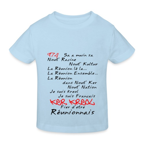 Kosement 974 ker kreol - T-shirt bio Enfant