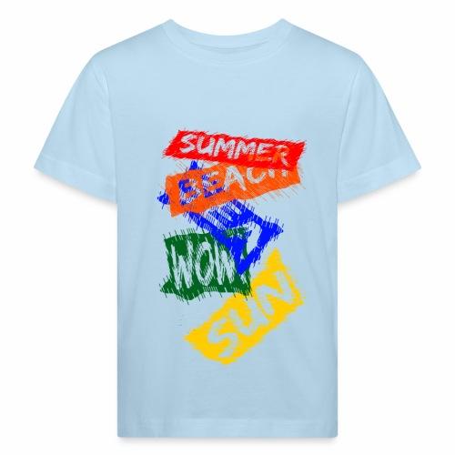 SUMMER - T-shirt bio Enfant