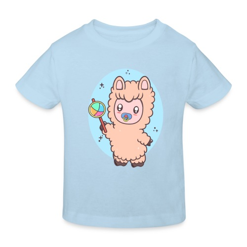 Baby Llama - Organic børne shirt