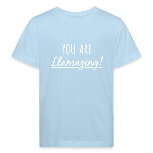 You are Llamazing - Organic børne shirt