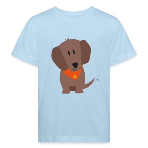 Dackel Oskar - Kinder Bio-T-Shirt