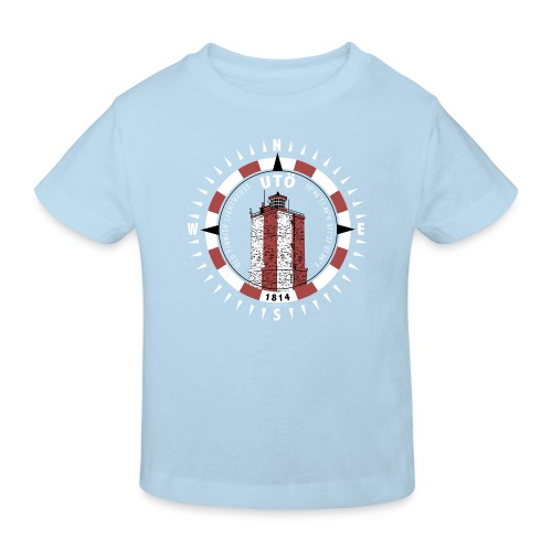 UTÖ MAJAKKA Kompassi - Tekstiilit ja lahjatuotteet - Lasten luonnonmukainen t-paita
