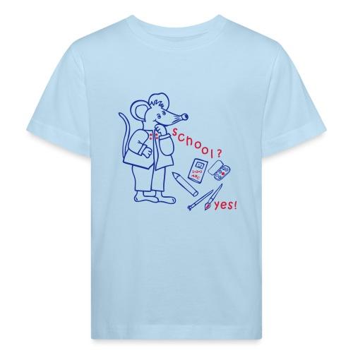Schulanfang, Einschulung - Kinder Bio-T-Shirt