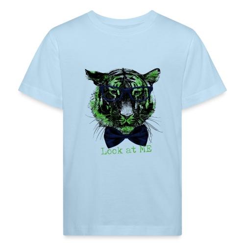 Tigerkopf_Look at me - Kinder Bio-T-Shirt