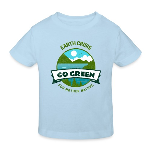 Earth Crisis Go Green For Mother Nature - Kinderen Bio-T-shirt