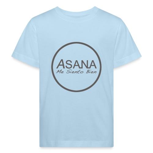 Centro ASANA . Me siento bien! - Camiseta ecológica niño