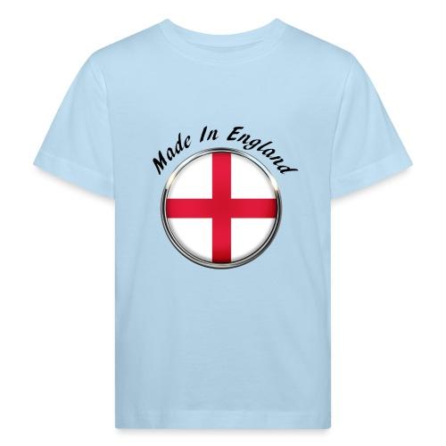 Made In England ( black text ) - Kids' Organic T-Shirt