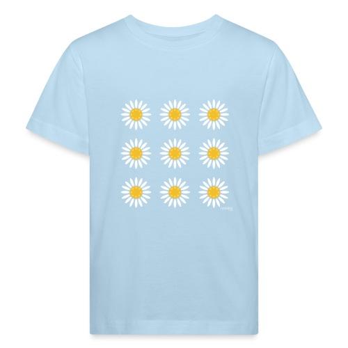 Just daisies - Lasten luonnonmukainen t-paita