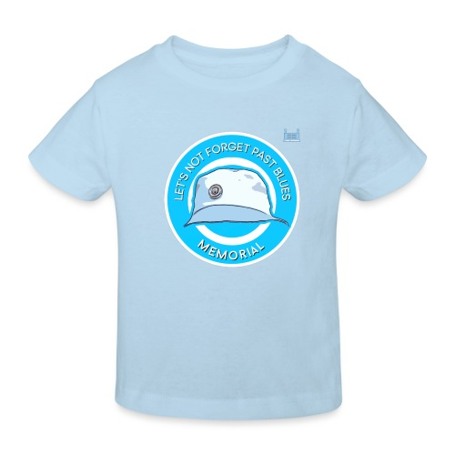 Let's Not Forget Past Blue's - Kids' Organic T-Shirt