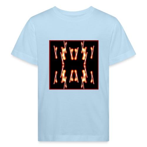 Lichtertanz #4 - Kinder Bio-T-Shirt