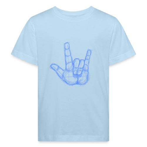 Sketchhand ILY - Kinder Bio-T-Shirt