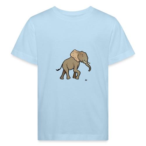Elefante africano - Maglietta ecologica per bambini