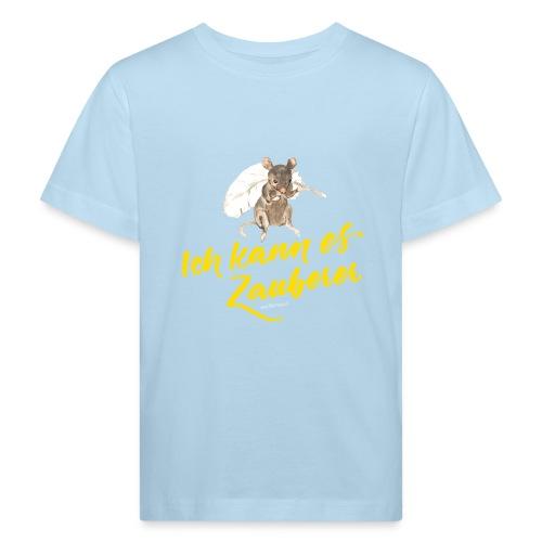 Ich kann es ZAUBERER - Kinder Bio-T-Shirt