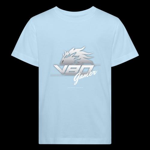 logo lionheartv80 chiaro trasparente - Maglietta ecologica per bambini