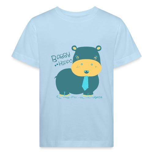 Baby hippo - Camiseta ecológica niño