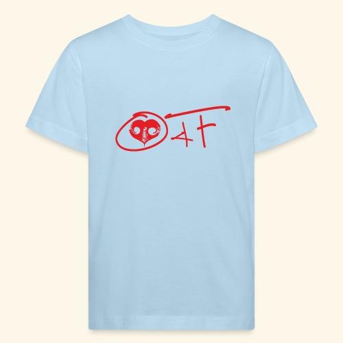 O4F ROSSO - Maglietta ecologica per bambini
