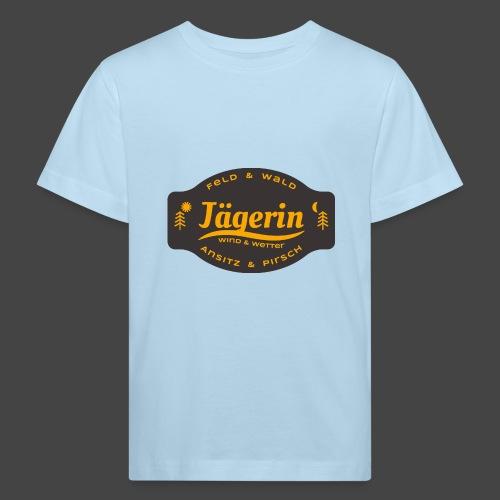 Das Jägerin-Shirt für aktive Jägerinnen - Kinder Bio-T-Shirt