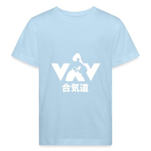 Aikido - Kinderen Bio-T-shirt