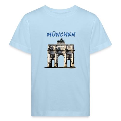 Münchnen Siegestor - Kinder Bio-T-Shirt