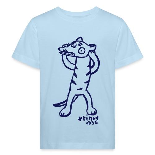 Hellblau Beutelwolf Kinder T-Shirts - Kinder Bio-T-Shirt