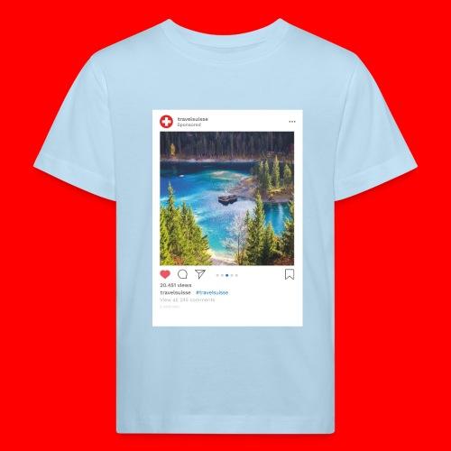 travelsuisse - Caumasee Flims/Laax - Kinder Bio-T-Shirt