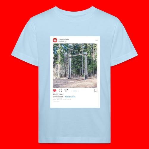travelsuisse - Chur Fuerstenwald 1 - Kinder Bio-T-Shirt