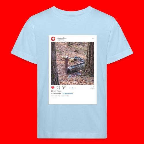 travelsuisse - Chur Fuerstenwald 5 - Kinder Bio-T-Shirt