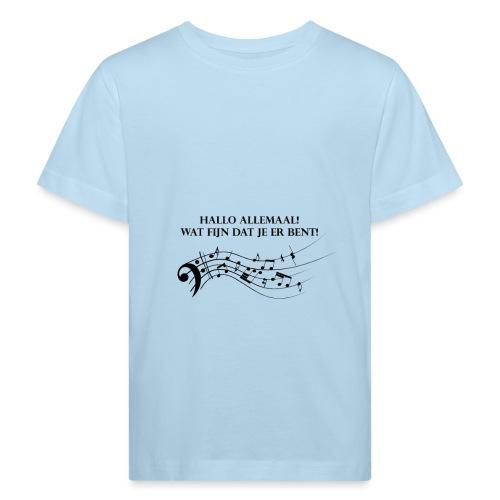 Hallo allemaal! - Kinderen Bio-T-shirt