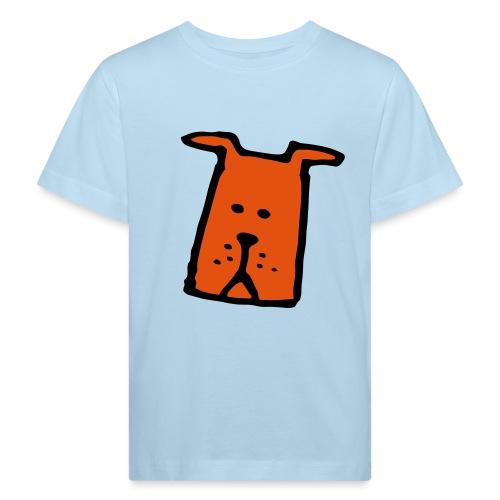 süßer Hund - Design - Geschenk für Kinder - Comic - Kinder Bio-T-Shirt