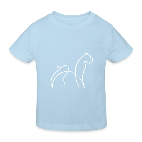 randy sinfondo blanco - Camiseta ecológica niño