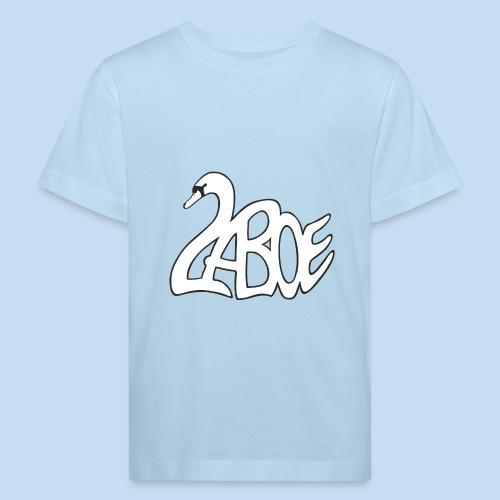 Laboe Schwan weiss - Kinder Bio-T-Shirt