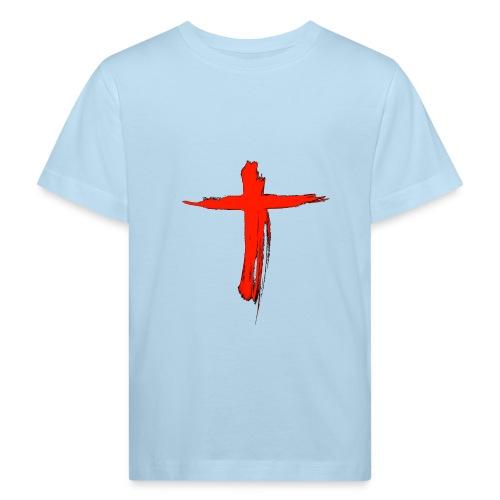 the cross - Camiseta ecológica niño