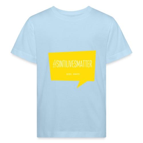 Sinti Lives Matter - Kinder Bio-T-Shirt