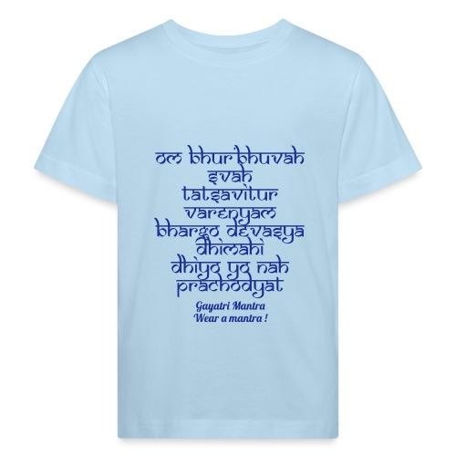 OM Bhur Bhuva Svaha - Maglietta ecologica per bambini