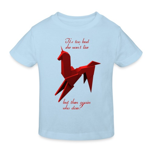 UnicornioBR2 - Camiseta ecológica niño