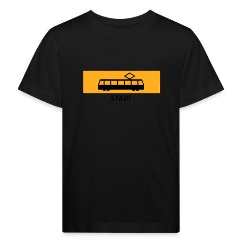 RATIKKA PYSÄKKI KYLTTI STADI T-paidat ja vaatteet - Lasten luonnonmukainen t-paita