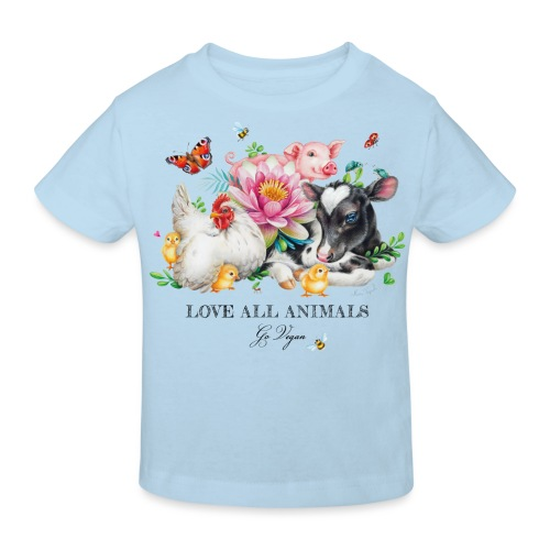 Go vegan - Kids' Organic T-Shirt