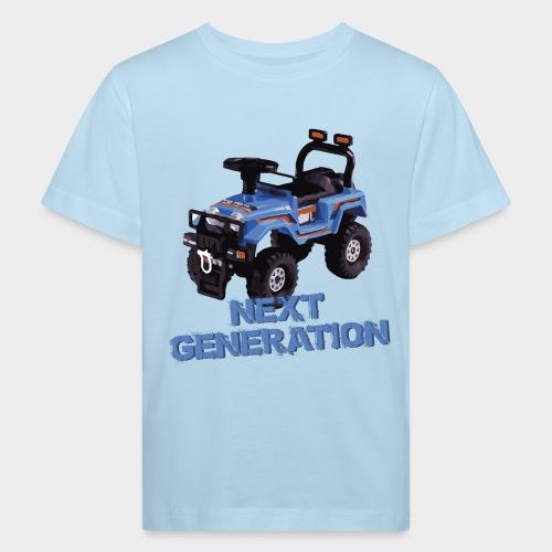 Next-Generation-Offroader - Kinder Bio-T-Shirt