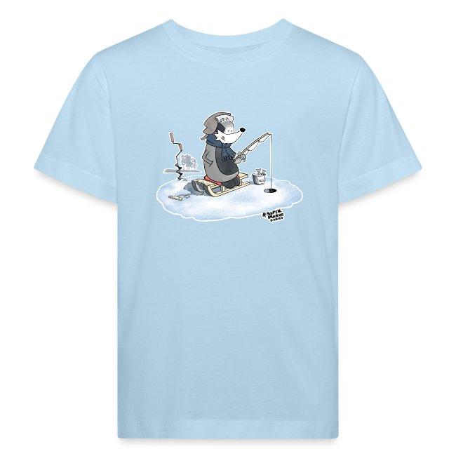 Ice Fishing Badger