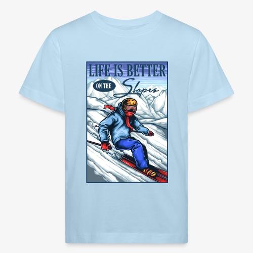 Ski Life - T-shirt bio Enfant